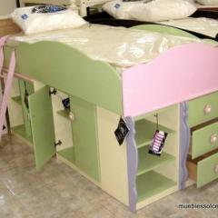 Cama Infantil Multimueble
